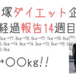ダイエット大塚ダイエット企画 〜経過報告14週目〜