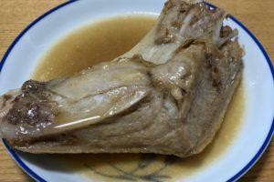 【簡単薬膳レシピ】まぐろのカマ煮