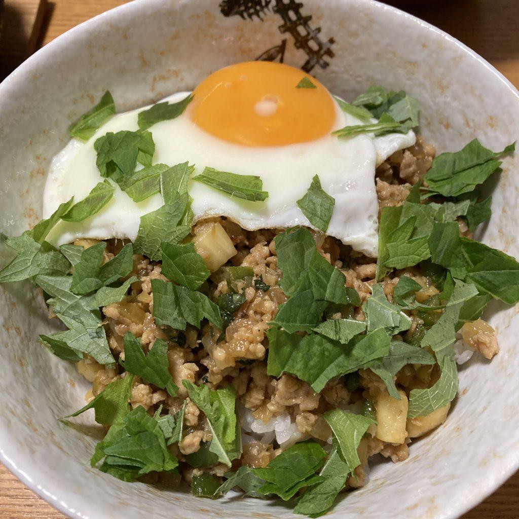 【簡単薬膳レシピ】マコモダケのガパオ